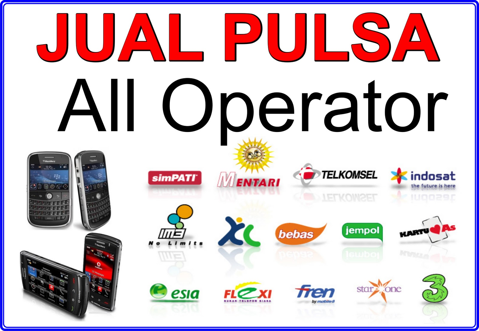 Image Result For Pulsa All Operator Murah Malang
