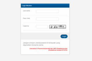 Cara Login Transaksi Via Web Top Up Chip Sakti