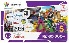 Paket TV Voucher TelkomVision Active